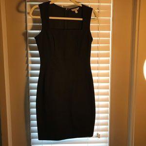 Figure-Flattering Black Dress